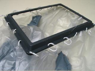 Construir una ducha interior para marco polo o california - Cortinas improvisadas ...