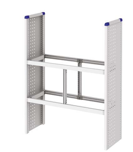Estructura taller móvil con paneles laterales